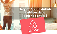 Cheque cadeaux Airbnb